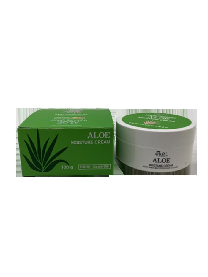 Купить Крем для лица с алоэ Ekel Moisture Cream Aloe 100 мл