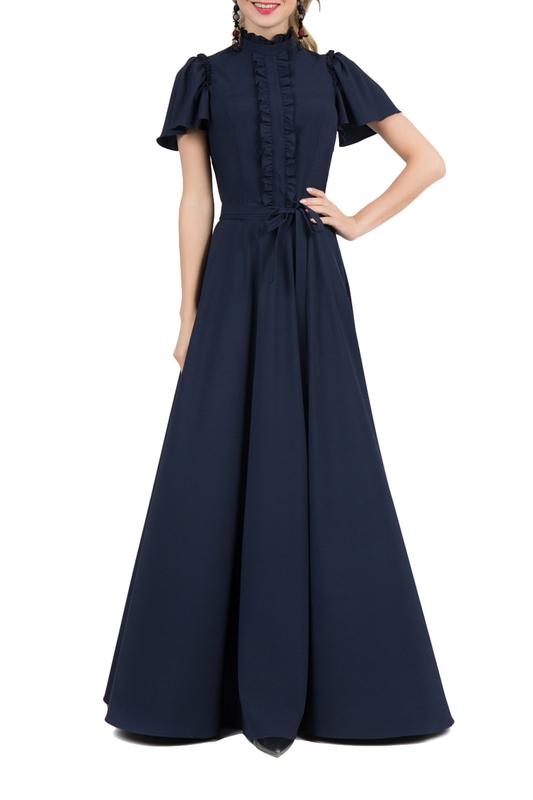 Платье женское MARICHUELL MPL00120V(SELAVY) синее 50 RU фото