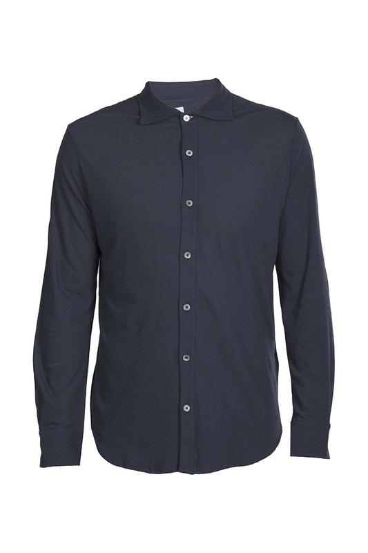 Рубашка мужская ELEVENTY 93306 синяя XL фото