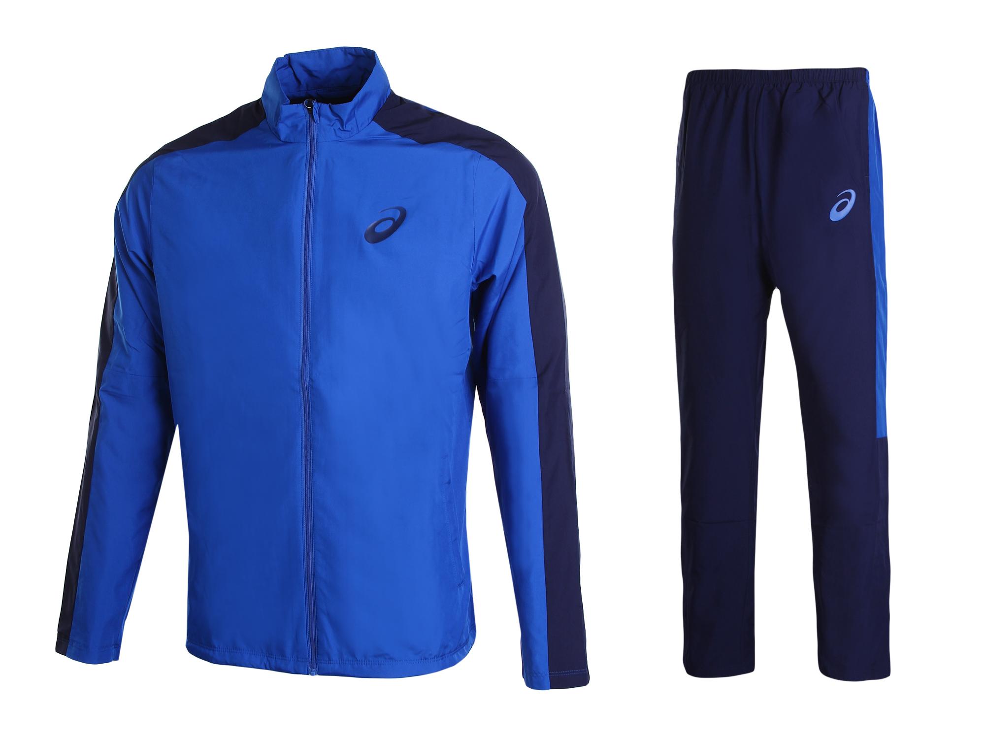 Спортивный костюм Asics Lined Suit, blue/peacoat, XXL INT Lined Suit по цене 5 190