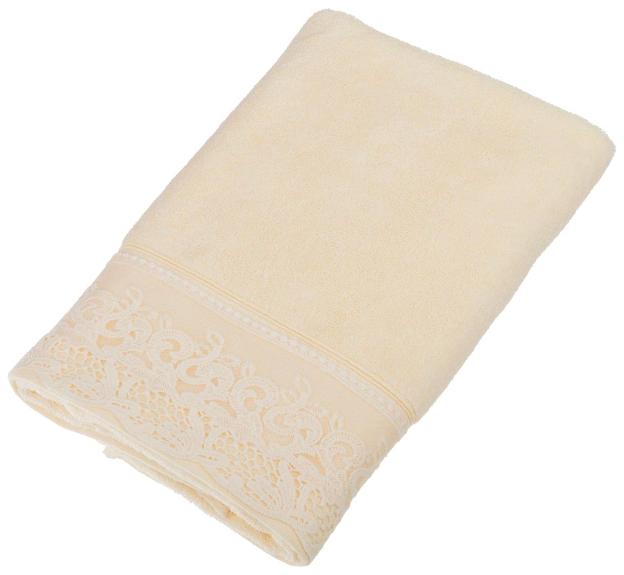 Банное полотенце, полотенце универсальное Santalino бежевый
