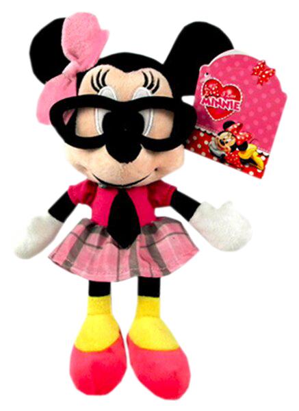 Купить Мягкая игрушка Disney Минни 20 см, Мягкие игрушки животные