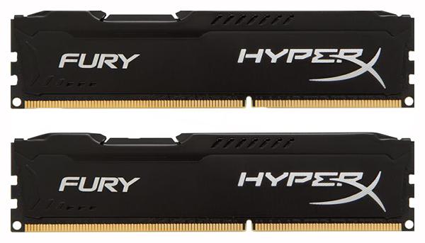 Оперативная память HyperX FURY HX318C10FBK2/8