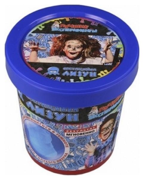 Купить Набор Qiddycome Лучшие эксперименты Светящийся лизун Призрачно-Голубой Х036, Научные технологии, Наборы для создания слаймов