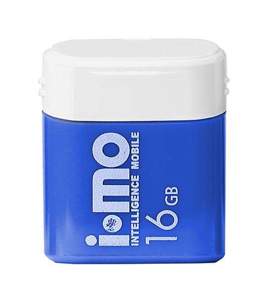 USB флешка IMO Lara 16GB Blue (IM16GBLARA