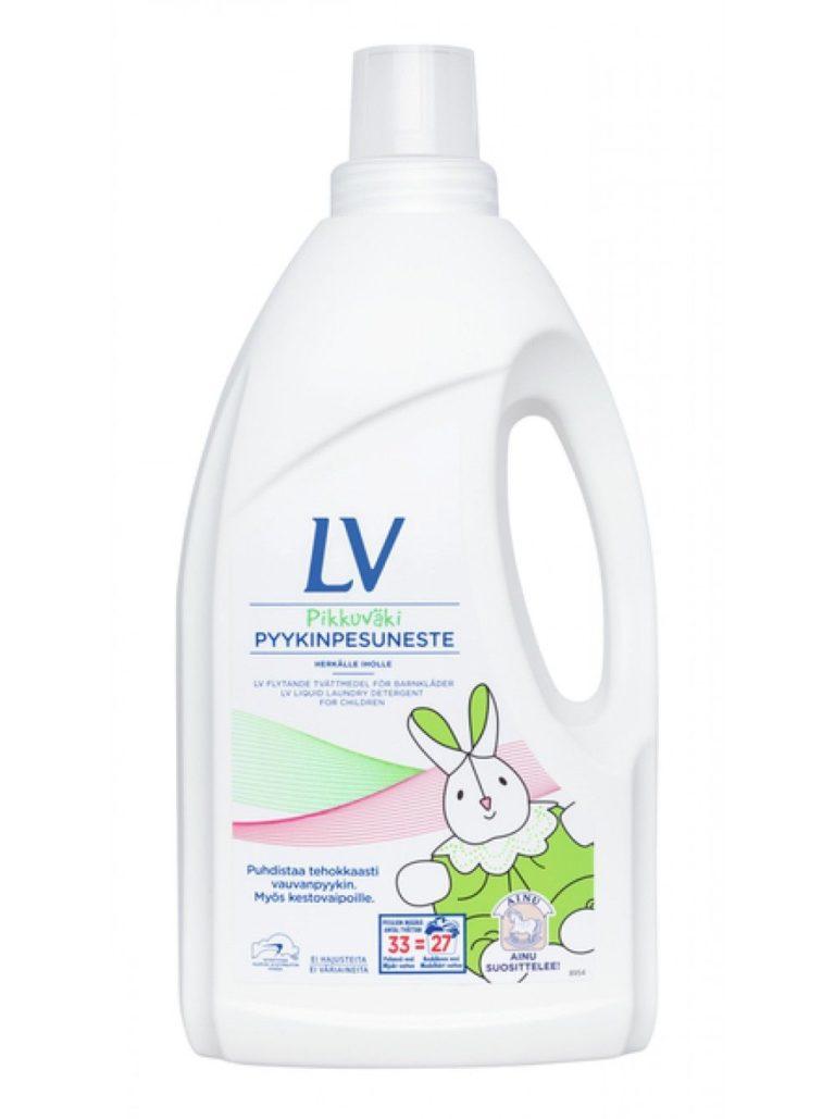 Концентрированное жидкое средство Berner LV для стирки детской одежды фото
