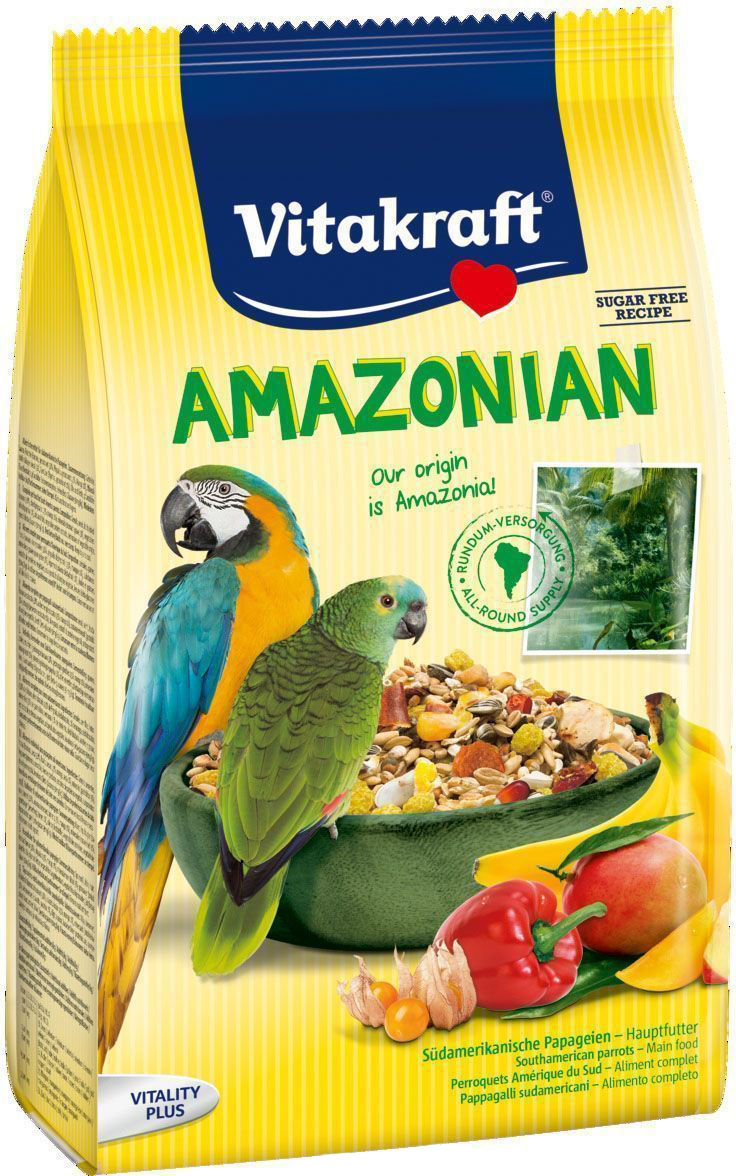 Корм для крупных попугаев Vitakraft