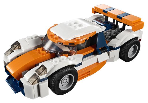 Конструктор LEGO Creator 31089 Оранжевый гоночный автомобиль фото