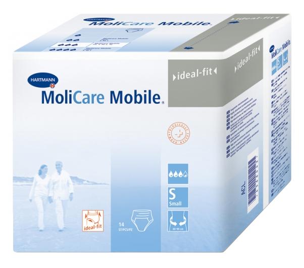 Подгузники для взрослых HARTMANN MoliCare Mobile Впитывающие трусы 14 шт, S/4