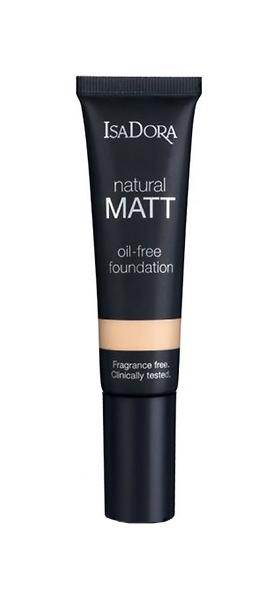 Тональный крем IsaDora Natural Matt Oil-Free Foundation тон 10 Porcelain 35 мл