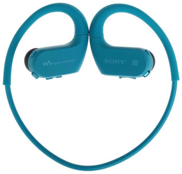 Плеер-наушники Sony NW-WS623 Синий