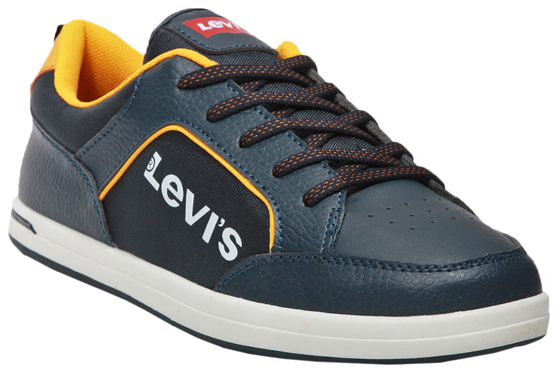 Купить 0923, Кеды детские Levi's Kids, цв. синий р.37,