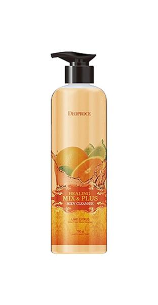 Гель для душа Deoproce Healing Mix  Plus Body Cleanser Lime Citrus