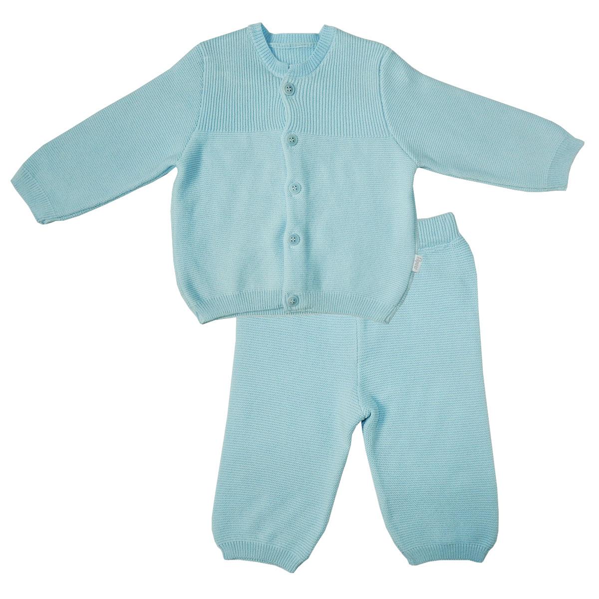 Купить 73-7004, Комплект одежды Папитто, цв. голубой р.68,