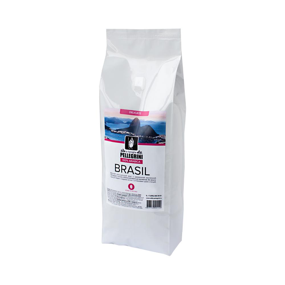 Кофе зерновой La famiglia Pellegrini  Brasil 1000  г