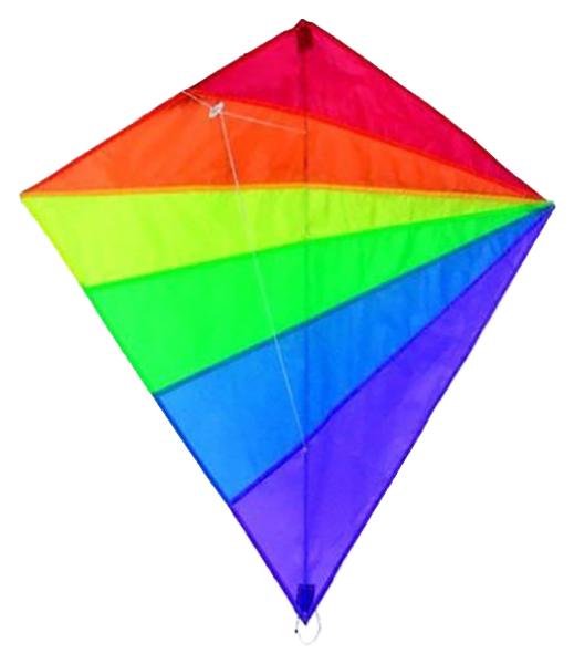 Воздушный змей X Match Цветной, 82х88 см