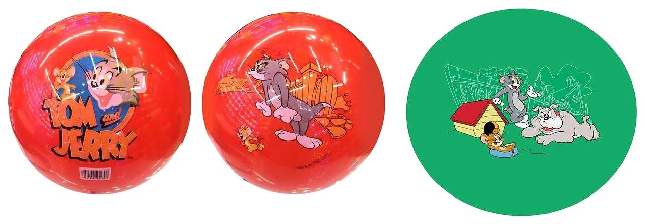 Мячик детский 1Toy Т59913 Разноцветный 1 TOY Том и Джерри ПВХ 23см