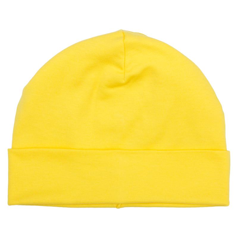 Купить Шапка детская Bambinizon Лимонная ША-ЛИМ р.56, Детские шапки и шарфы