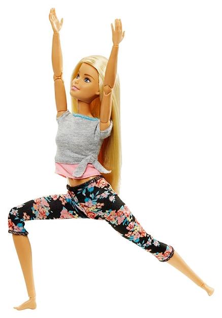 Купить Кукла Mattel Barbie FTG81 Безграничные движения Блондинка,