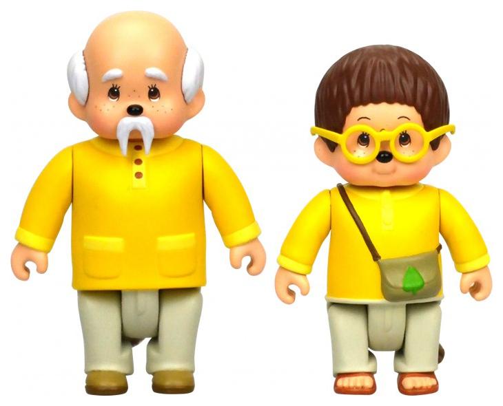 Купить Набор фигурок Monchhichi Лифи и Сильвус 7, 5 см, Игровые наборы