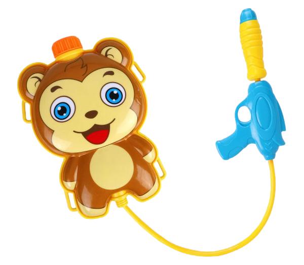 Бластер Наша Игрушка водяной с рюкзаком Мишка 301-17