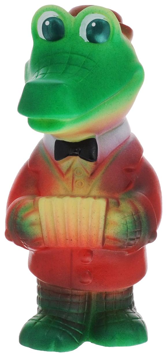 Игрушка для купания Огонек Крокодил-гармонист