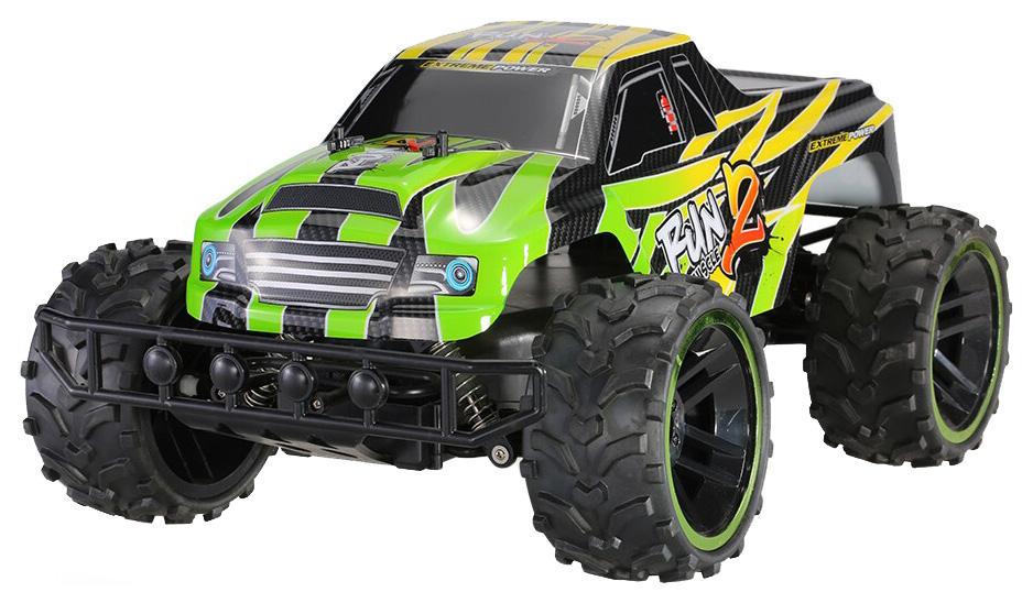 Купить Радиоуправляемая машинка QY Toys Monster Truck Radio Car Зеленый/Черный, Радиоуправляемые машинки