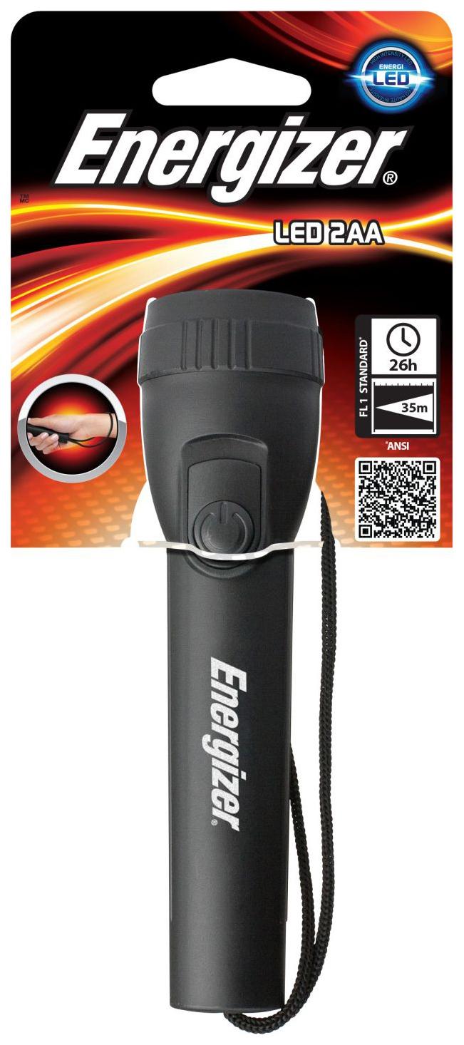 Туристический фонарь Energizer FL Plastic черный, 1 режим