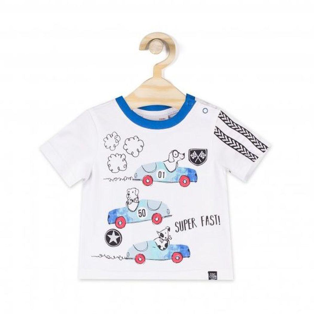 Купить L18143202BIP, Футболка для мальчиков COCCODRILLO р.68, Детские футболки, топы