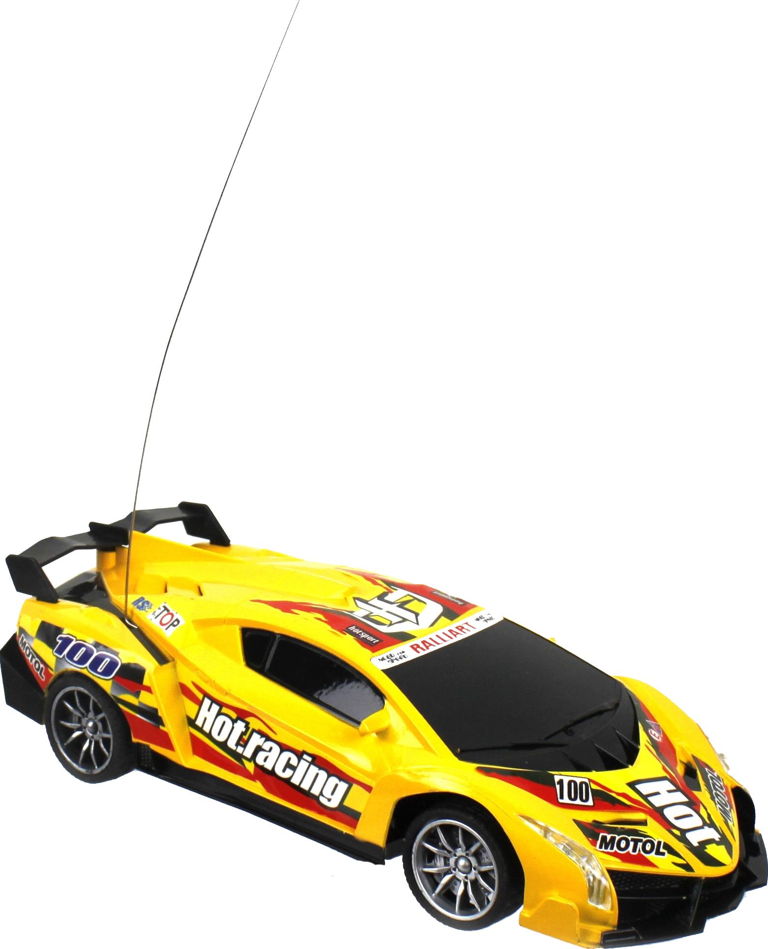 Радиоуправляемая машинка 1 Toy Спортавто Т13843 Желтый