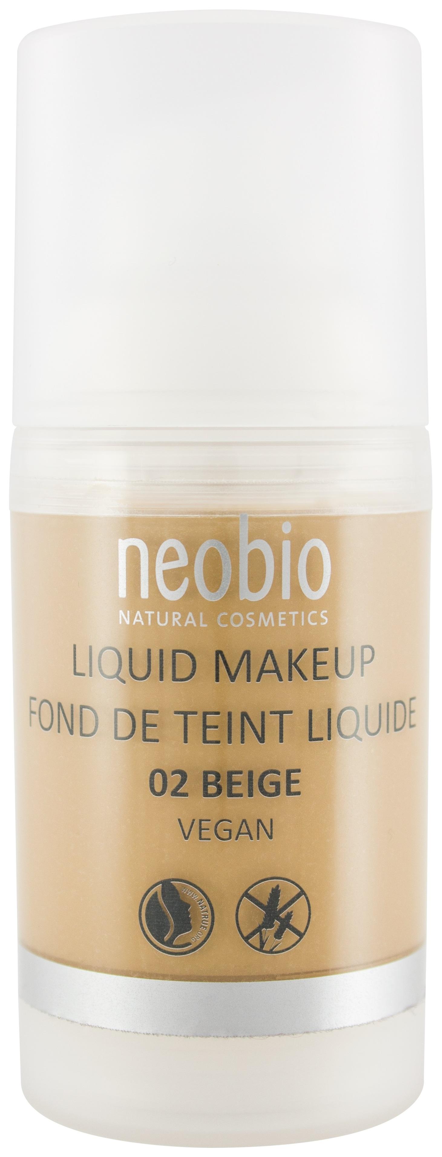 Тональный крем NeoBio Liquid Makeup Fond De Teint