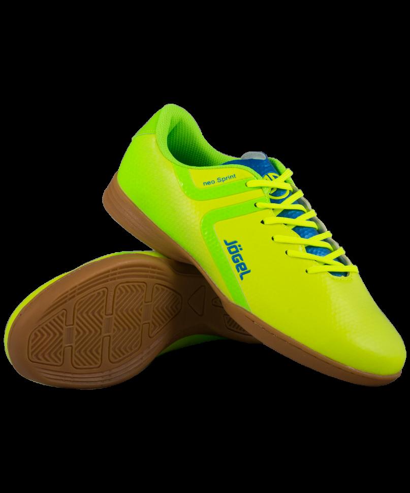 Футбольные бутсы Jogel Rapido JSH4001, лимонные, 45 EU