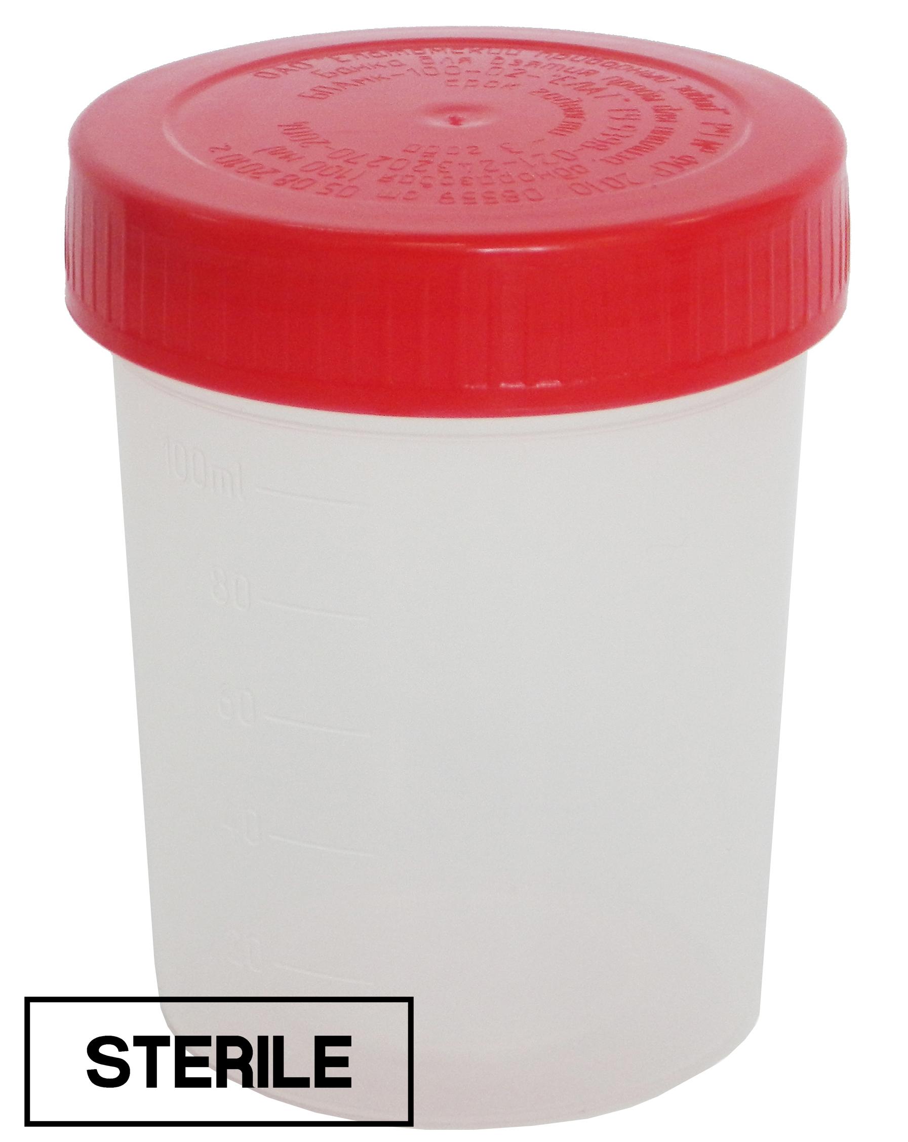 Купить Контейнер для биоматериала Еламед стерильный полимерный 100 мл