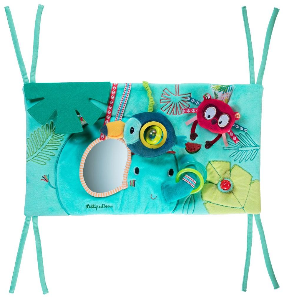 Купить Панно развивающее Lilliputiens Слоненок Альберт, Развивающие игрушки