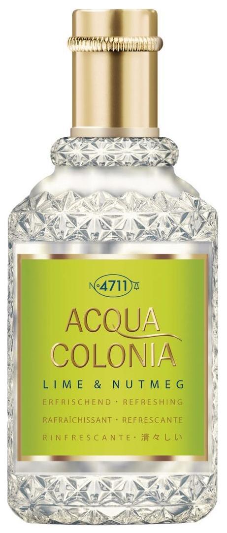 Одеколон 4711 Acqua Colonia Lime & Nutmeg 50 мл фото