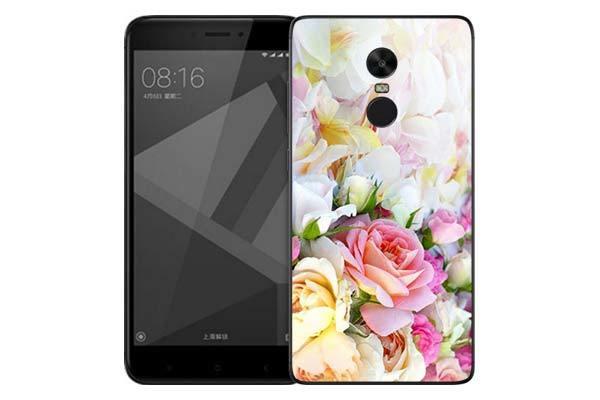 Чехол Gosso Cases для Xiaomi Redmi Note 4X «Нежные розы»