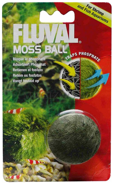 Декорация для аквариума Fluval Moss Ball