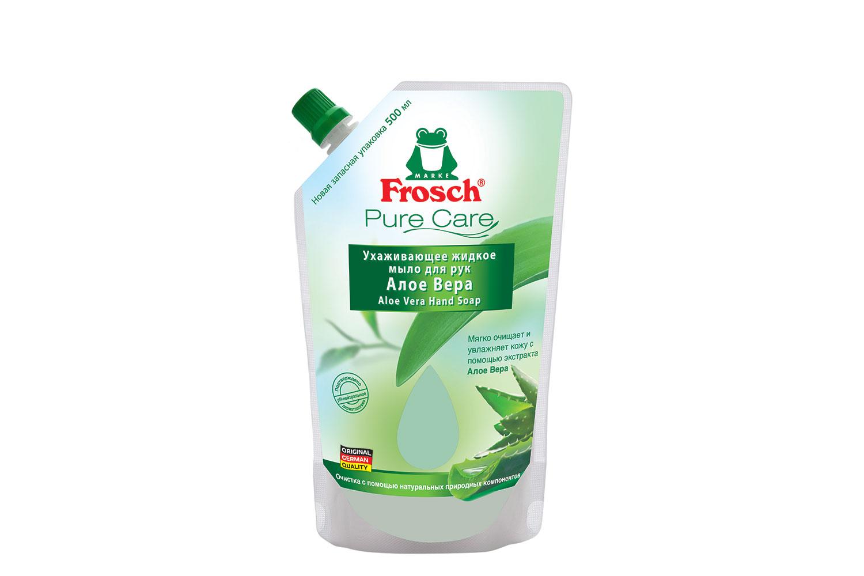 Жидкое мыло Frosch Алоэ Вера 500 мл (запасной блок)