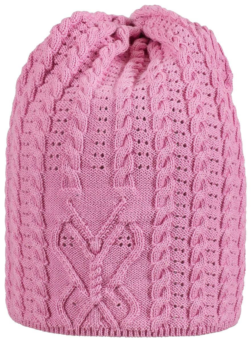 Купить S19G3012A, Шапка детская (для девочки) Barkito, розовая р.50-52, Детские шапки и шарфы