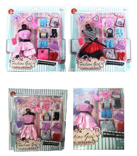 Купить Набор аксессуаров и одежды для куклы высотой 29 см 2 шт. в ассортименте, Junfa toys, Одежда для кукол