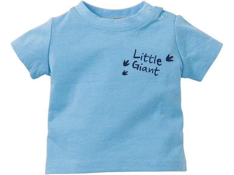 Купить Футболка для мальчика Lupilu р.62-68 голубая, Детские футболки, топы