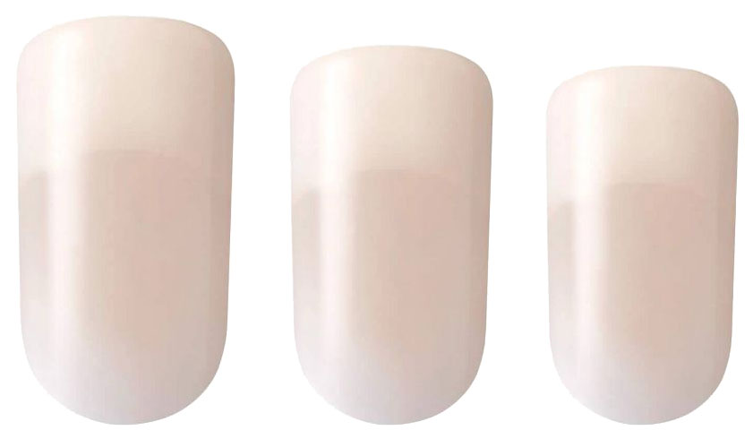 Накладные ногти Kiss Salon Acrylic Nude French Nails