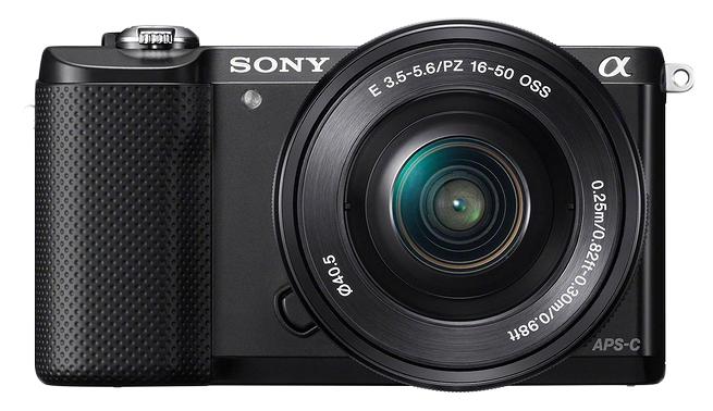 Фотоаппарат системный Sony Alpha A5000 Kit