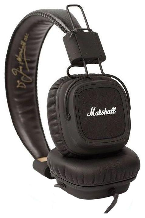 Marshall наушники major black