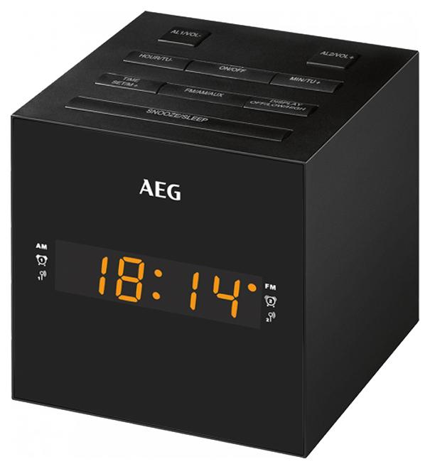 Радио часы AEG MRC 4150 Schwarz
