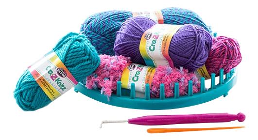 Крейзи нитс набор для вязания шапка