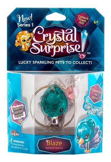 Купить Павлин, Crystal surprise 45707 кристал сюрприз фигурка павлин + браслет и подвески, Фигурки животных