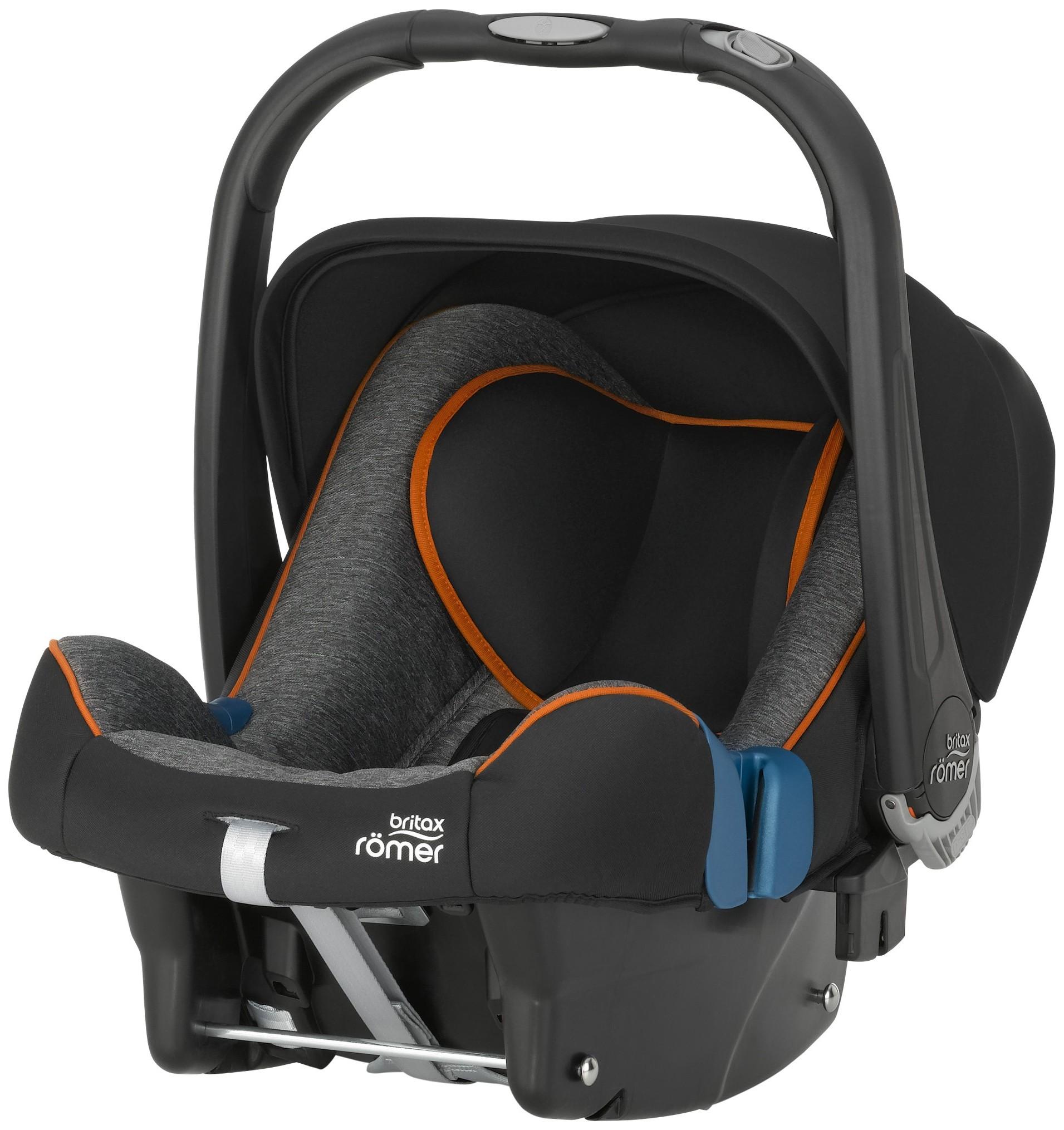Автокресло Britax Römer Baby-Safe Plus SHR II группа 0+, Black Marble (2000023261)
