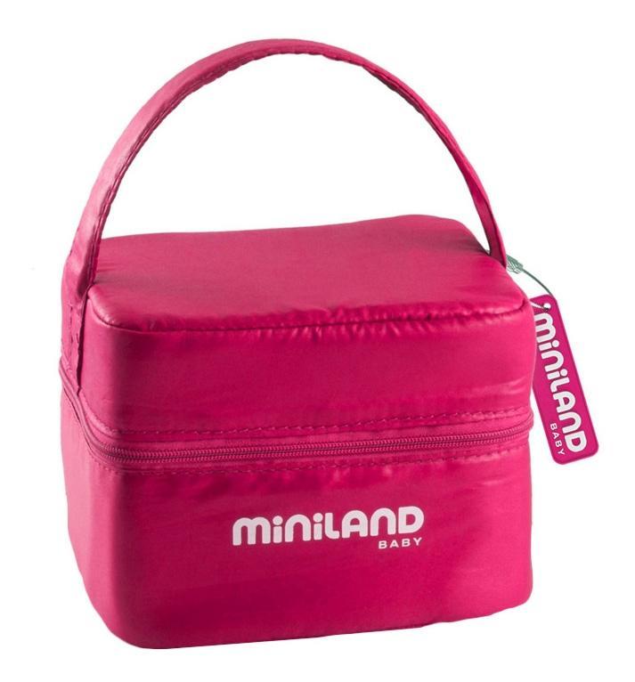 Купить Термосумка Miniland pack-2-go hermiffresh, розовая, Термосумки для детских бутылочек