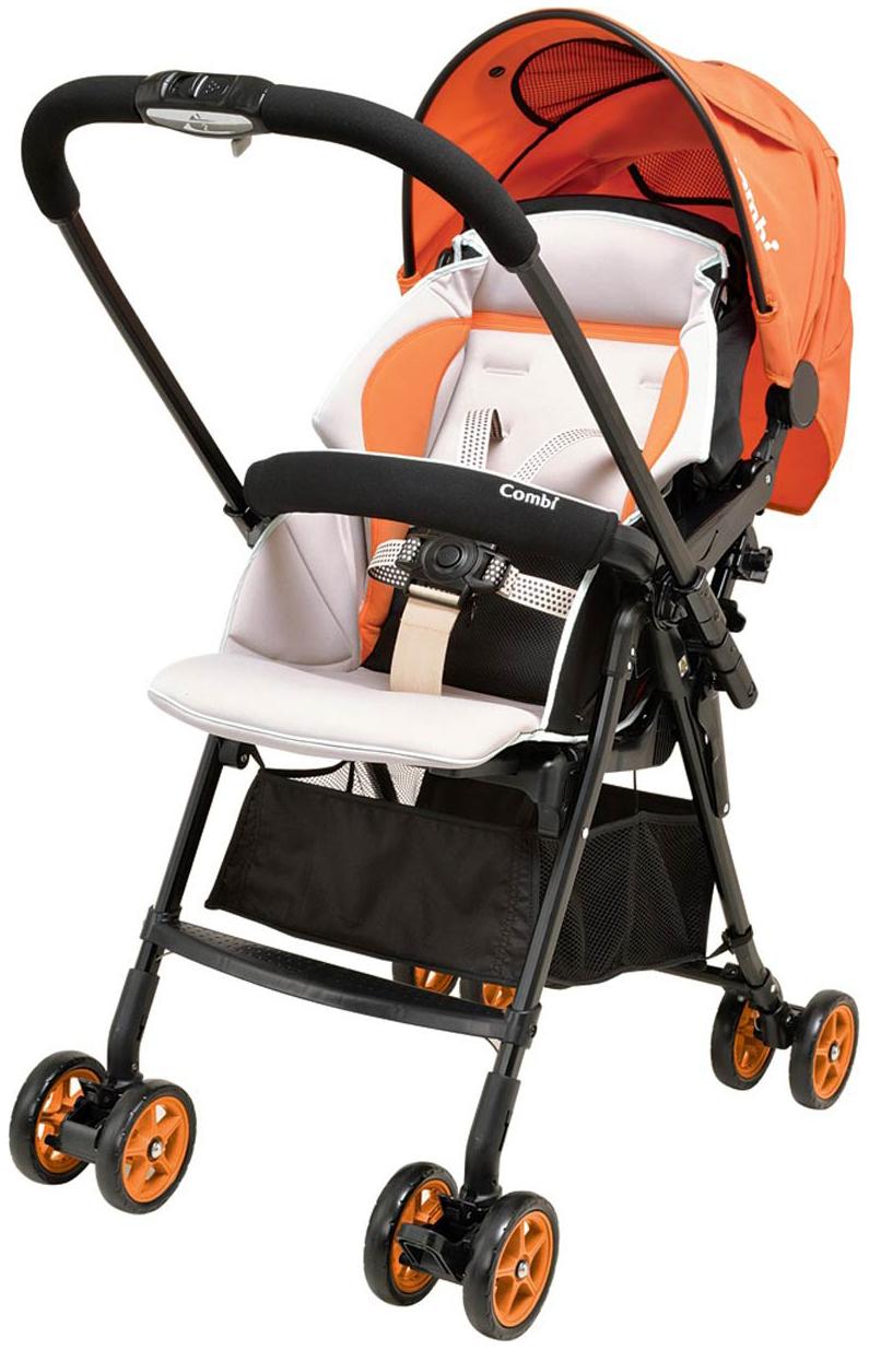 Прогулочная коляска Combi Well Comfort OR оранжевый, Коляски книжки  - купить со скидкой